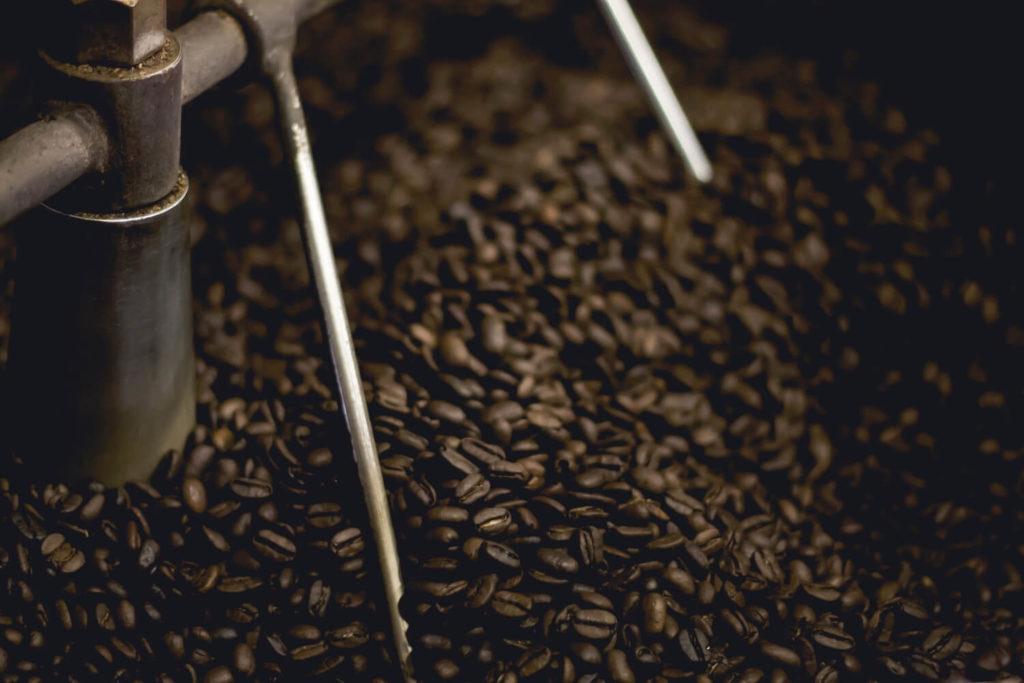 Kaffee nach dem Rösten